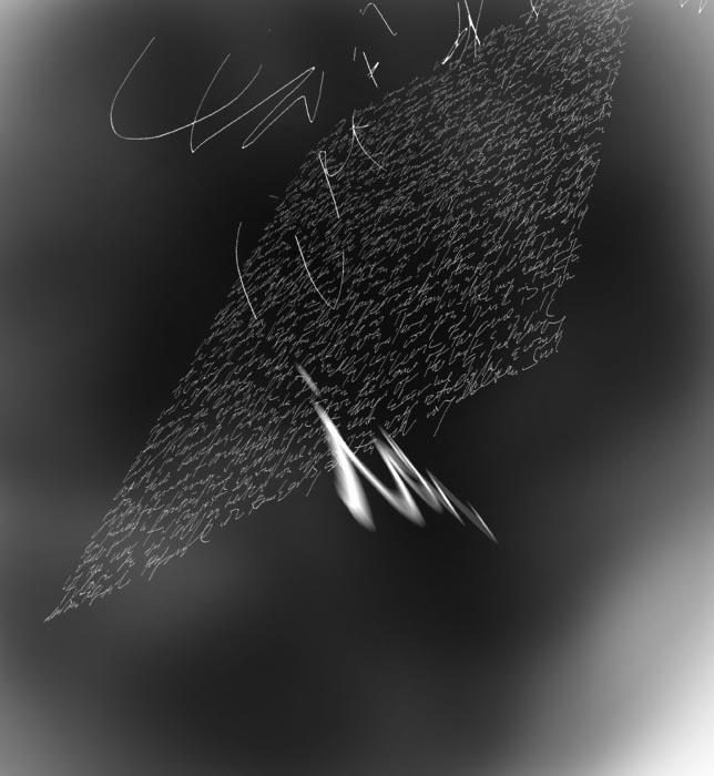 schwarzer raum 1